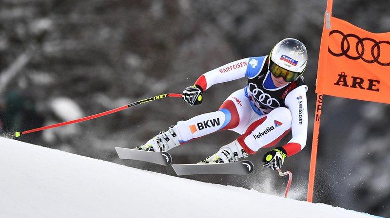 Ski alpin - Mondiaux d'Are: Corinne Suter décroche la médaille d'argent de la descente, cinq jours après le bronze en Super-G
