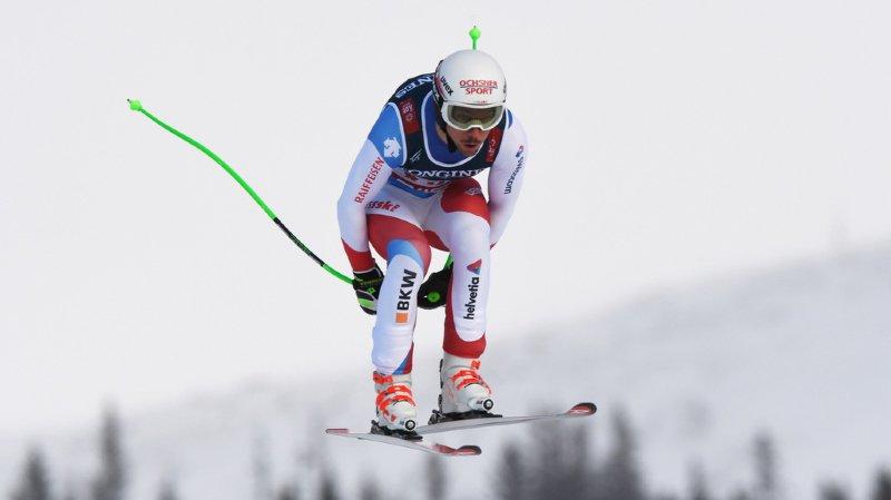 Ski alpin - Mondiaux d'Are: les Suisses peuvent espérer une médaille après la descente du combiné