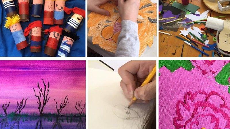 Stages créatifs pour enfants de 5 à 12 ans