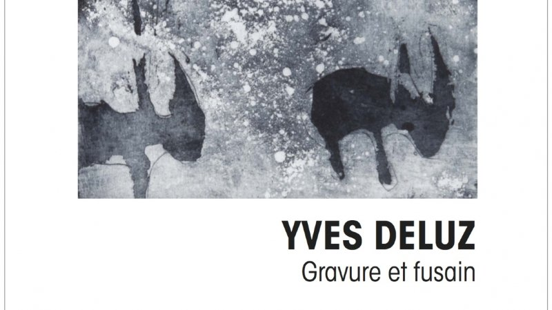 Exposition Yves Deluz, gravure et fusain