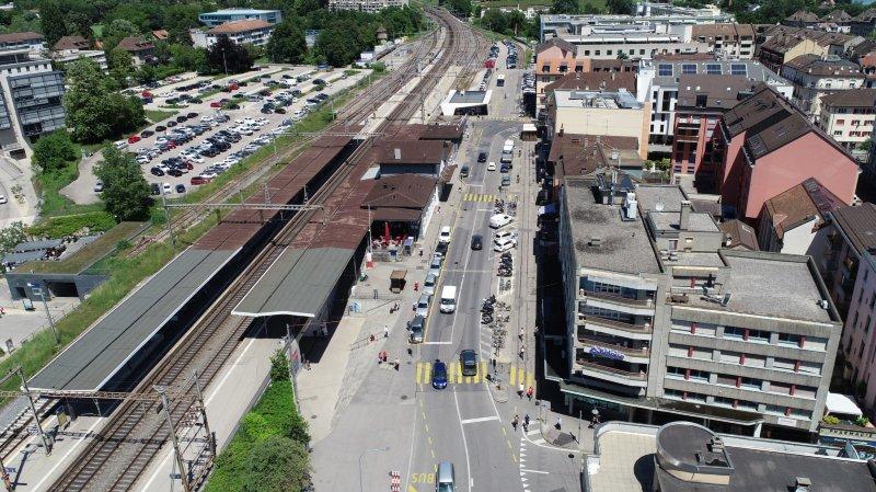 Nyon: la place de la Gare se réinvente dès lundi
