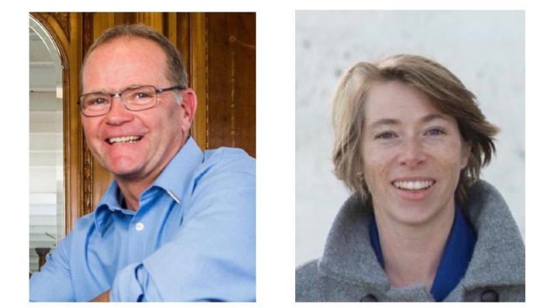 Boris Lerch et Johanna Pini sont les deux candidats au poste vacant à la Municipalité.