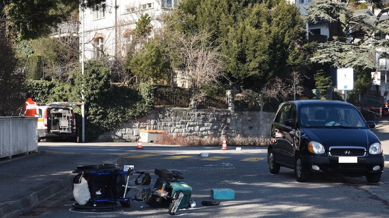 Zürich: un homme en chaise roulante happé sur un passage piéton à Kilchberg