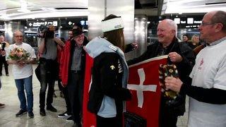 Mondiaux d'Are: Corinne Suter est arrivée en Suisse