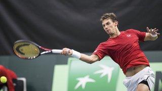 Tennis - Coupe Davis: la Suisse éliminée par la Russie après la défaite de Laaksonen face à Khachanov