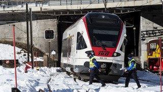 Tessin: deux cheminots happés par un train, l'un d'eux a été tué sur le coup, l'autre est gravement blessé