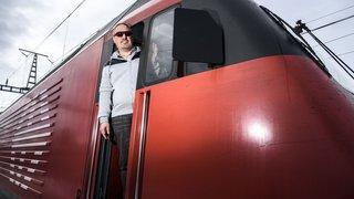 Cédric Echenard, l'élu rollois qui vit à un train d'enfer