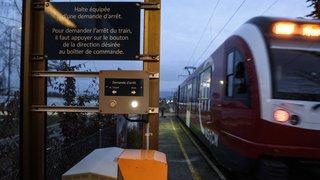 Nyon: le P'tit train rouge fonce et oublie ses passagers dans le froid