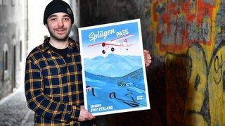 Depuis Saint-Cergue, il dépoussière l'image touristique de la Suisse
