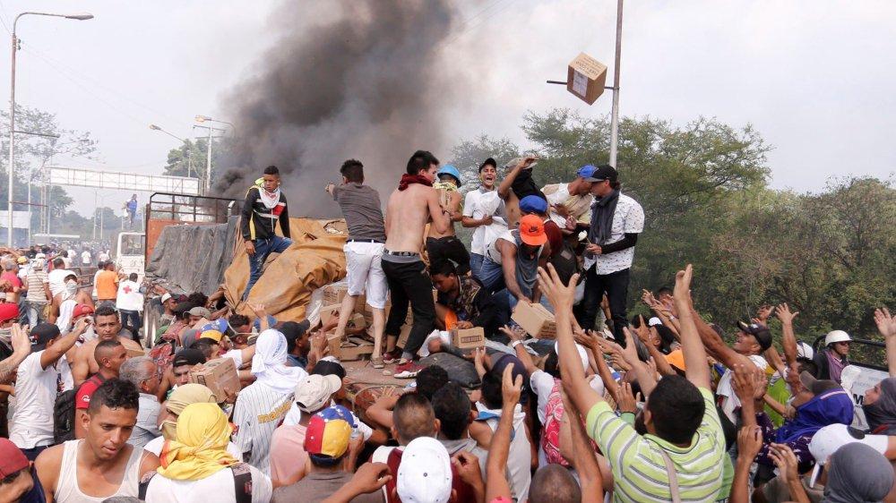 La pression monte à Caracas