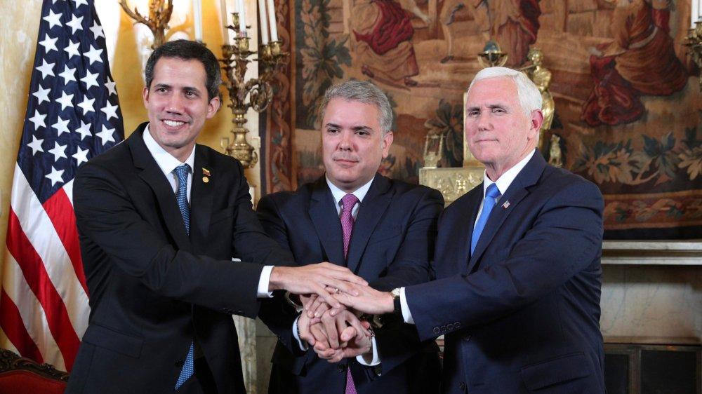 Guaido rencontre Pence