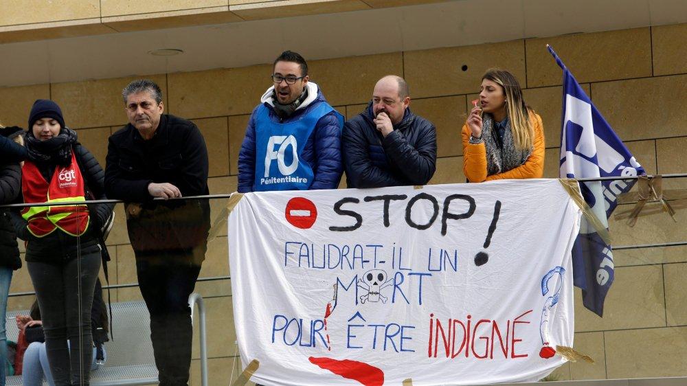 Le mouvement de protestation a touché différents établissements pénitentiaires français.