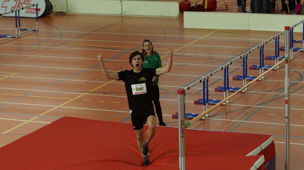 Vivien Steit s'est rapidement adapté à sa nouvelle structure d'entraînement, comme le démontre le titre de champion suisse décroché le 17 février à Saint-Gall.