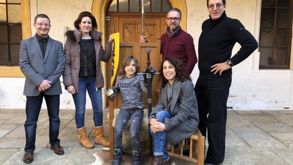 """Claude Berguerand, Adélaïde Zeyer, Karel Fantys, Esther Fantys, Jan Fantys et Edmond Vullioud (de g. à dr.) vont présenter """"L'Ordalie"""" à Morges."""