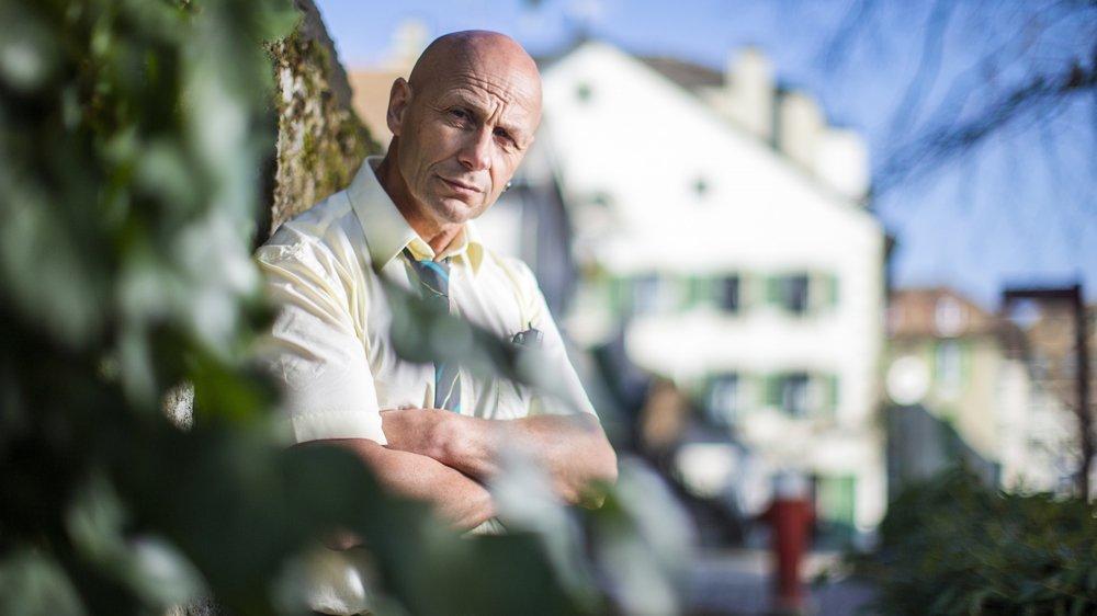 Philippe Billard, postier à Nyon, aime décrire les petites scènes du quotidien.