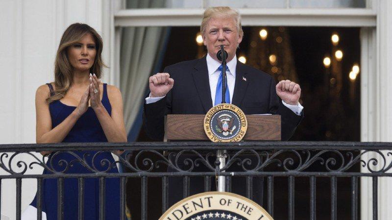 Donald Trump a annoncé qu'il souhaite changer les traditions du 4 juillet, jour de la fête d'indépendance américaine, et prononcer un discours lors de l'évènement.