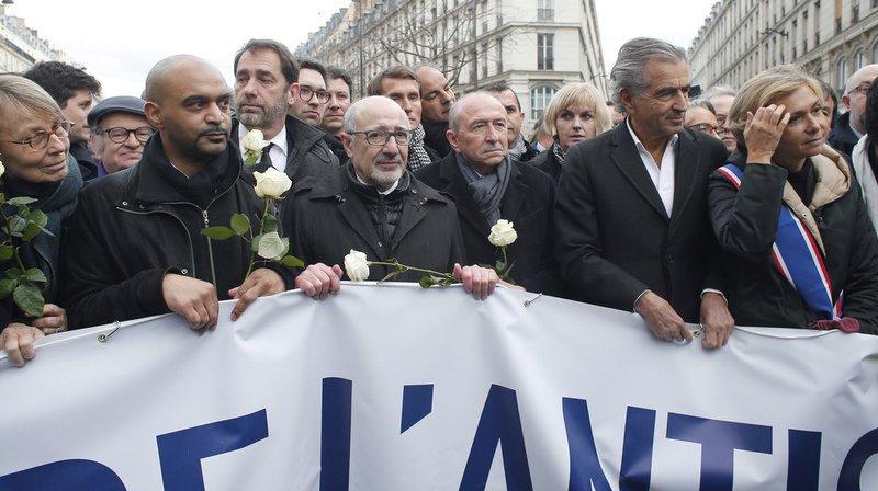 France: à l'appel des partis, le pays se mobilise contre l'antisémitisme