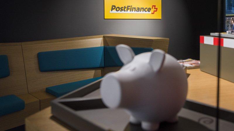 L'excédent opérationnel de PostFinance en 2018 a chuté de près de 60% à 220 millions de francs.