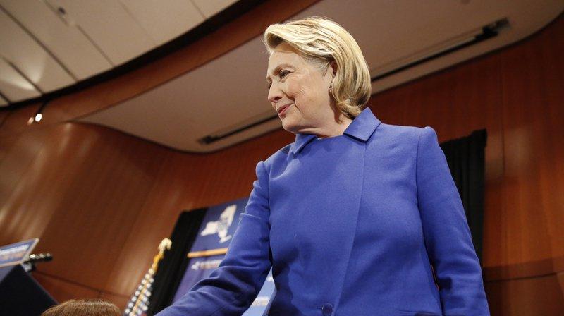 Présidentielle américaine 2020: Hillary Clinton ne se présentera pas