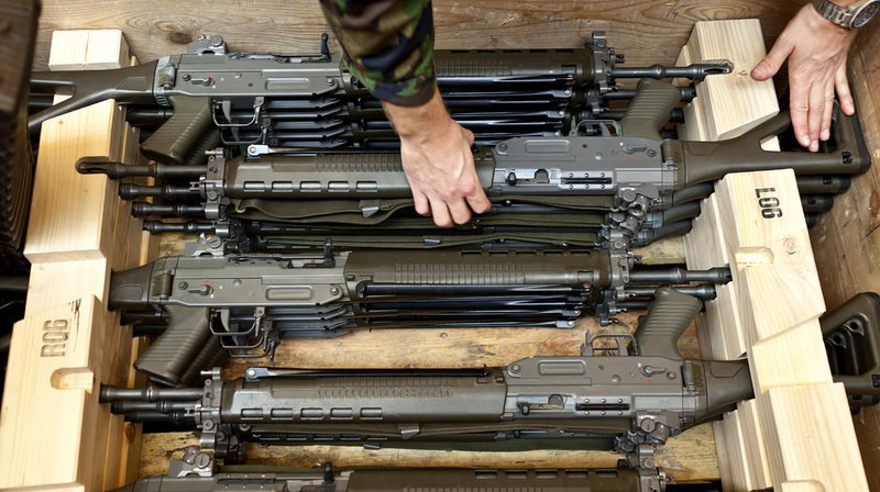 Les livraisons effectuées en 2018 concernaient principalement des armes de tout calibre et des munitions, des véhicules blindés ainsi que des composants pour avions de combat.