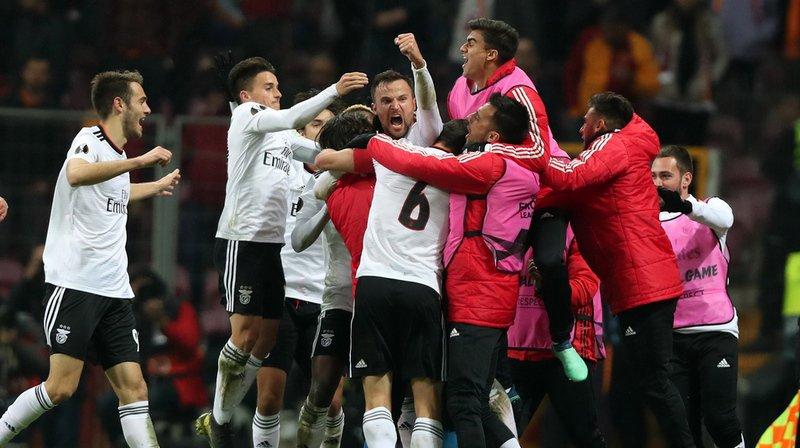 Football – Europa League: Haris Seferovic offre la victoire au Benfica face à Galatasaray en 16es de finale aller