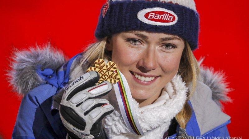 Ski alpin: l'Américaine Mikaela Shiffrin a décidé de faire l'impasse sur Crans-Montana