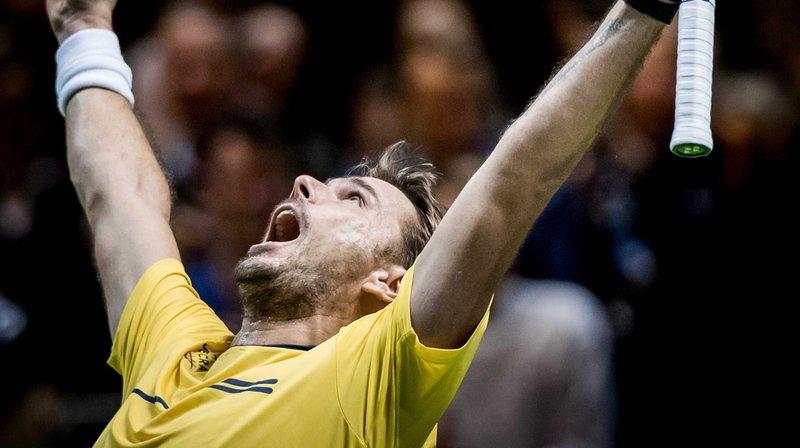 Tennis - Tournoi de Rotterdam: Stan Wawrinka en finale