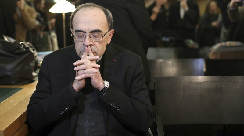 Condamné pour son silence, le cardinal Barbarin va démissionner