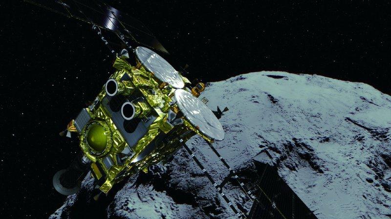 Espace: le rendez-vous réussi entre la sonde Hayabusa2 et l'astéroïde Ryugu