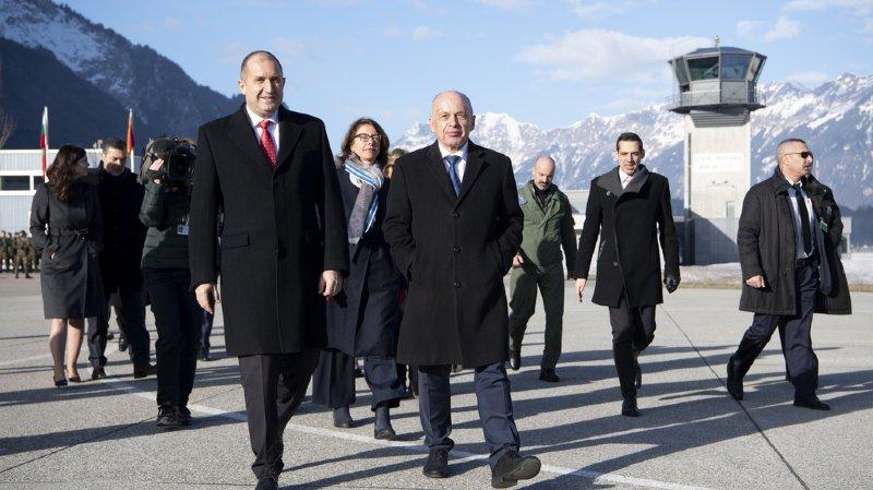 Diplomatie: le président bulgare Roumen Radev en visite officielle en Suisse