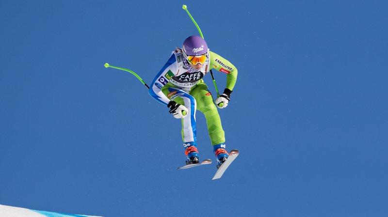Ski alpin: ligament croisé déchiré pour Ilka Stuhec, championne du monde de descente