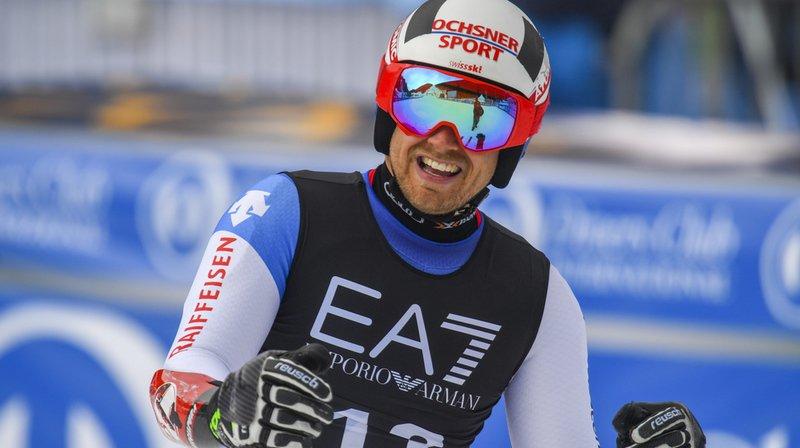 Ski alpin: le Grison Mauro Caviezel 6e du combiné de Bansko, remporté par Alexis Pinturault