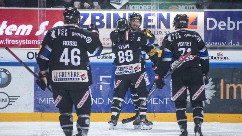 Fribourg Gottéron n'a pas manqué son affaire face à Ambri-Piotta en National League.
