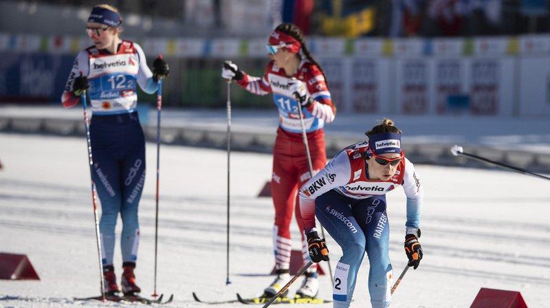 Ski nordique – Mondiaux de Seefeld: Nadine Fähndrich décroche une belle 5e place au 10 km classique
