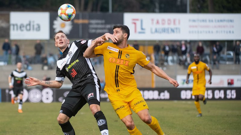 Les Young Boys de Berne ont remporté le match de ce jour 1-0 contre Lugano en 94 minutes.