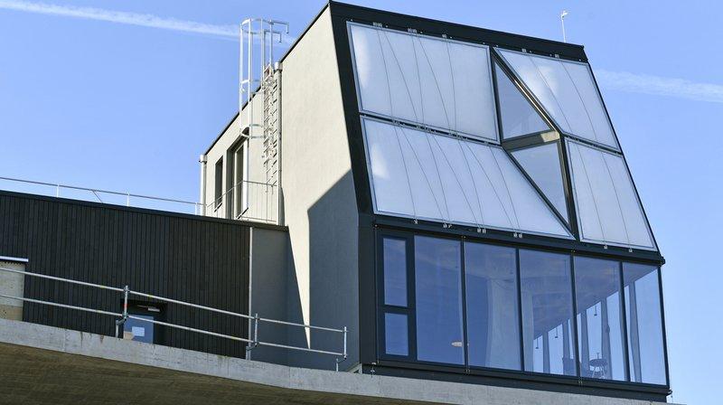 Une maison construite à l'aide de robots et d'imprimantes 3D inaugurée à Dübendorf (ZH)