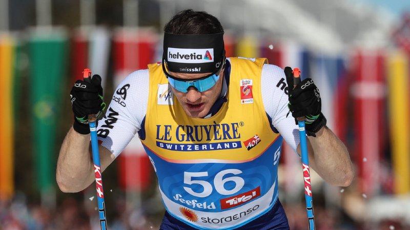 Ski nordique - Mondiaux de Seefeld: Dario Cologna rate le bronze de peu sur le 15 km classique