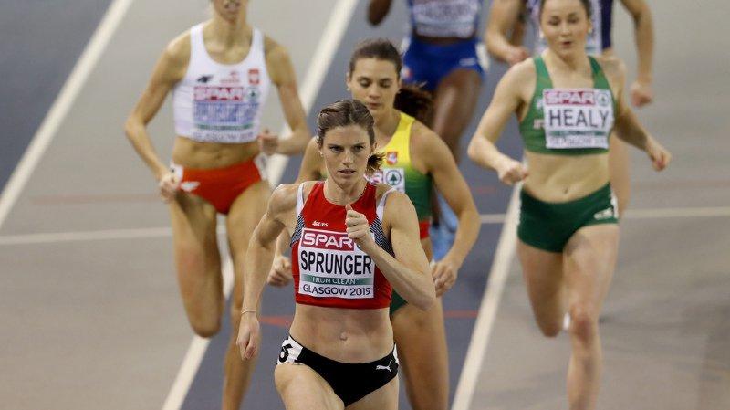 Championnats d'Europe en salle: Lea Sprunger en finale du 400 m