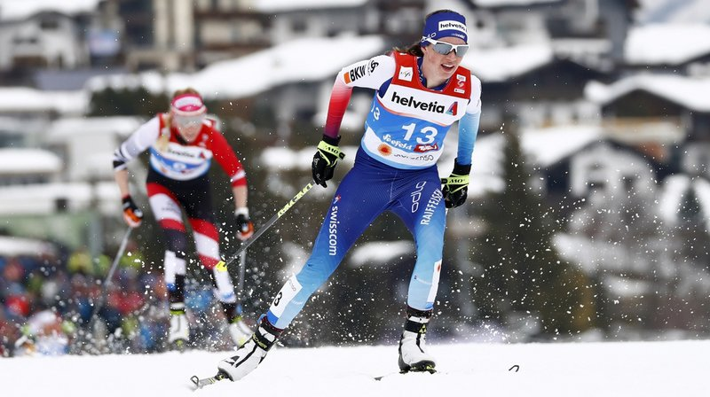 Ski nordique - Mondiaux de Seefeld: Nathalie von Siebenthal décroche une belle 7e place au 30 km