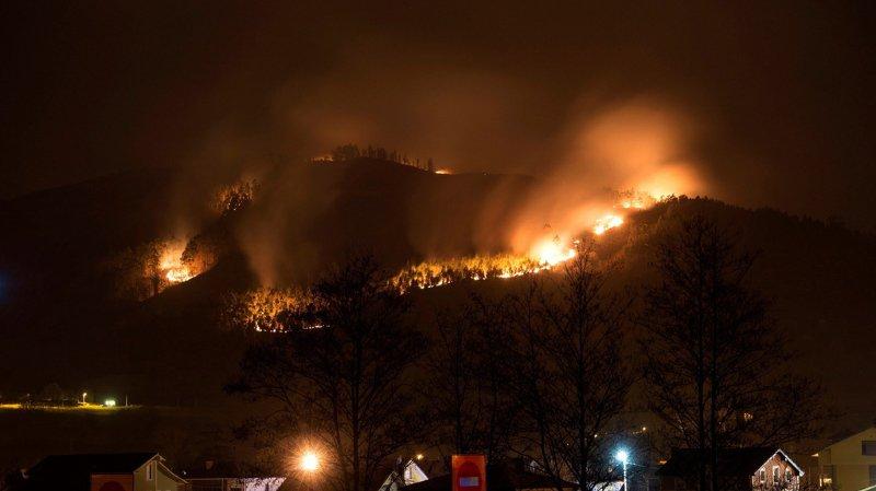 Espagne: nombreux incendies dans le nord du pays à cause de températures élevées