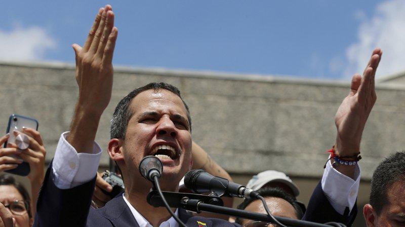 Venezuela: le président autoproclamé Juan Guaido est rentré à Caracas