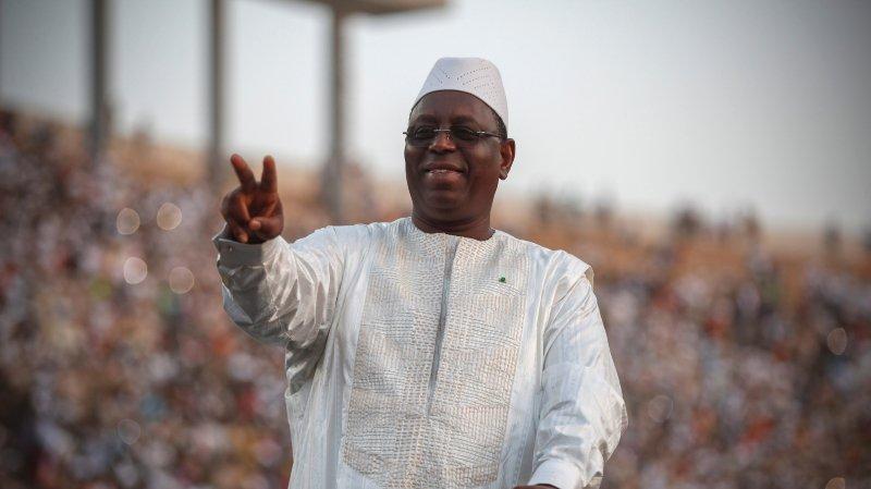Au Sénégal, Macky Sall se proclame vainqueur