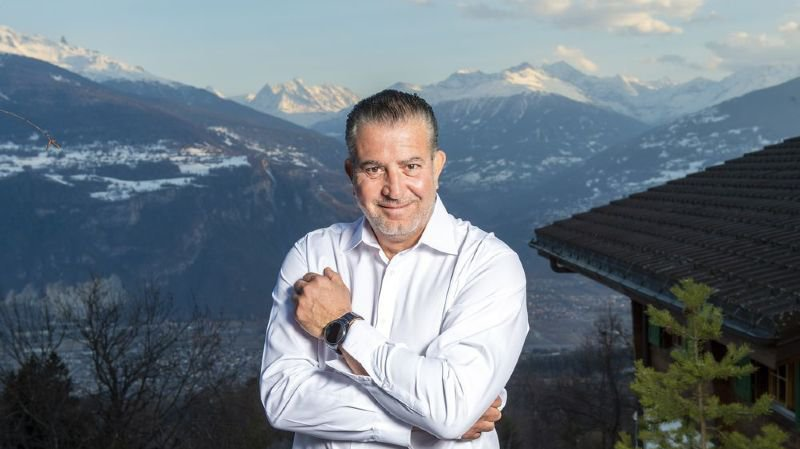 Eric Stauffer s'est exilé dans le canton du Valais.