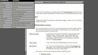 Pour les 30 ans du web, ce navigateur du CERN vous permet de surfer comme en 1990