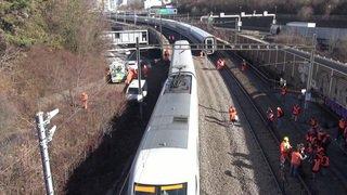 Accident ferroviaire à Bâle: le trafic est encore interrompu