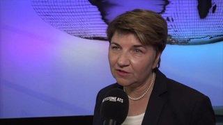 Viola Amherd à propos du nouveau matériel de l'armée