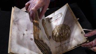 Genève: un manuscrit de Léonard de Vinci présenté au public