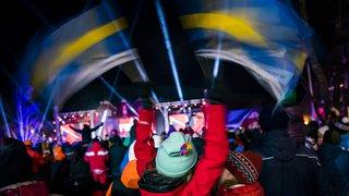Ski alpin: les Mondiaux d'Are en images
