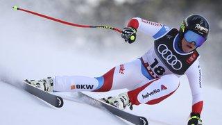 Ski alpin: Corinne Suter 2e et Lara Gut-Behrami 3e du premier entraînement de la descente de Crans-Montana