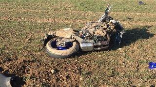 Collision frontale à Villigen (AG): unmotardgrièvement blessé